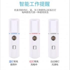Vinkkatory Humidifier Nano Mist Sprayer Facial Steamer Moisturizer Nebulizer 20ml - L8 - White - 4