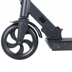 TaffSPORT Skuter Elektrik Electric Scooter Folding Aluminium 5.2AH 8 inch - ES5 - Black - 4
