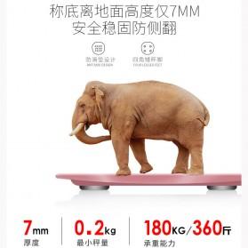 Mrosa Timbangan Badan Elektronik Health Scale 180KG USB Rechargeable - SHZ01 - Pink - 2