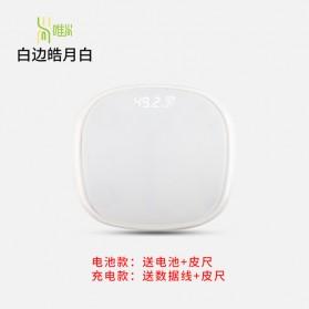 Mrosa Timbangan Badan Elektronik Health Scale 180KG USB Rechargeable - SHZ01 - Pink - 3