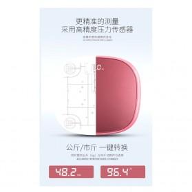 Mrosa Timbangan Badan Elektronik Health Scale 180KG USB Rechargeable - SHZ01 - Pink - 5