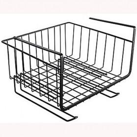 KITLOVE Rak Gantung Cabinet Door Organizer Storage Basket Rack - IFB41 - Black - 4