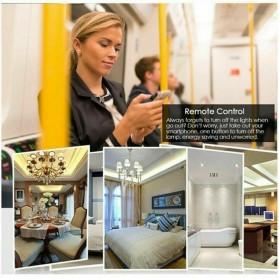 MINITIGER Smart Home Saklar Lampu Touch Wireless WiFi 2 Switch - FXF028 - Black - 5