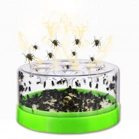 JIYUE Perangkap Nyamuk Lalat Mosquito Fly Catching Trap - JY-001 - Green