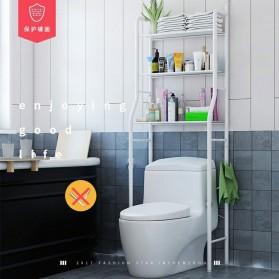 SMUXI Rak Organizer Kamar Mandi Bathroom Rack 3 Layers - G49 - White