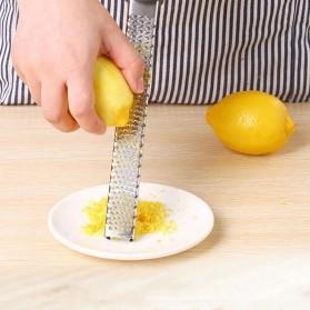 TEAEGG Parutan Kentang Keju Lemon Sayur Vegetable Grater Slicer Tool - A46 - Silver - 4