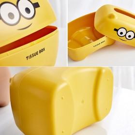 Riancy Kotak Tisu Gulung Tissue Roll Box Model Bear - ZJ010 - Brown - 7