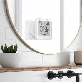 Baldr Timer Mini Digital Dapur Countdown Timer with Thermometer & Hygrometer - B0007 - Black - 4