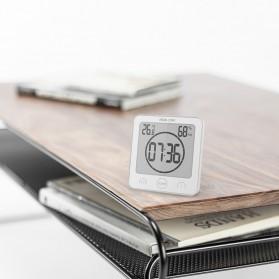 Baldr Timer Mini Digital Dapur Countdown Timer with Thermometer & Hygrometer - B0007 - Black - 5