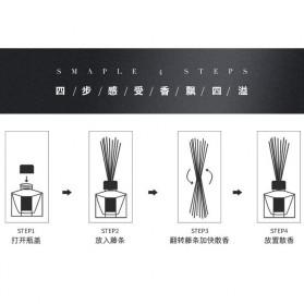 ZUOHE Parfum Ruangan Aroma Diffuser Reed Rattan Sticks Lemon 50ml - ML847 - 10