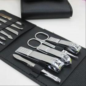 Wattson&Webb Nail Art Set Gunting Kuku Manicure Pedicure 12 PCS - B07T - Silver - 3