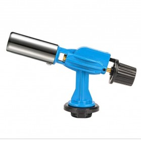 OOTDTY Kepala Gas Butane Multi Purpose Torch Jet Fire Gun - AG-900 - Blue