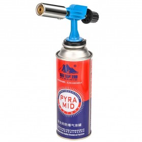 OOTDTY Kepala Gas Butane Multi Purpose Torch Jet Fire Gun - AG-900 - Blue - 3