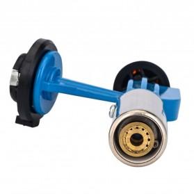OOTDTY Kepala Gas Butane Multi Purpose Torch Jet Fire Gun - AG-900 - Blue - 4