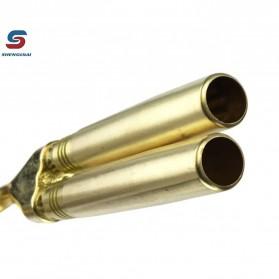Shenglilai Kepala Gas Butane Torch Double Tube BBQ Soldering Flame Gun Torch Jet - 820 - 4