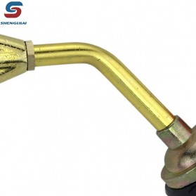 Shenglilai Kepala Gas Butane Torch Double Tube BBQ Soldering Flame Gun Torch Jet - 820 - 5