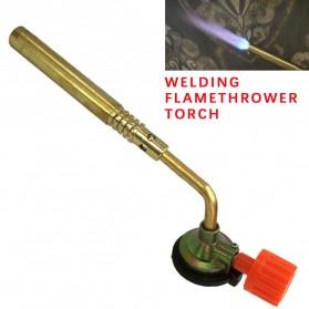 Kovea Kepala Gas Butane Torch BBQ Soldering Flame Gun Torch Jet - KT12 - Golden
