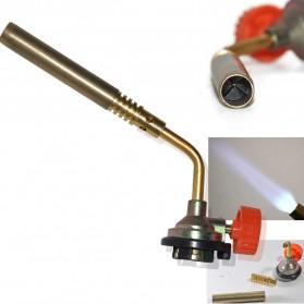 Kovea Kepala Gas Butane Torch BBQ Soldering Flame Gun Torch Jet - KT12 - Golden - 5