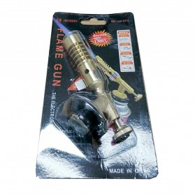 TOPTP Kepala Gas Butane Multi Purpose Torch Jet Fire Gun - JH-802 - Golden - 8