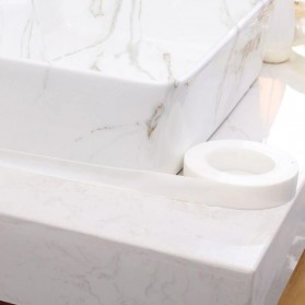 YouLian Lakban Waterproof Dapur Kitchen Sink Seal Tape 1x30mm 5 Meter - NJD11 - Transparent - 2
