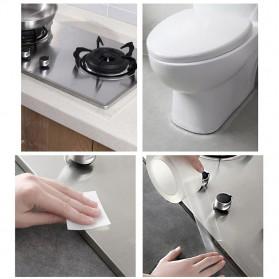 YouLian Lakban Waterproof Dapur Kitchen Sink Seal Tape 1x30mm 5 Meter - NJD11 - Transparent - 9