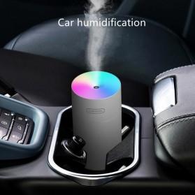 Kesoto Air Humidifier Mobil Aromatherapy LED Light 270ml - KS300 - White - 5