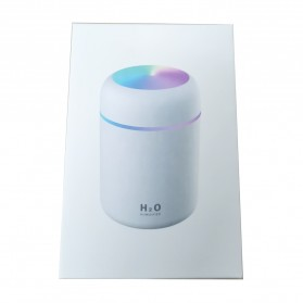 Kesoto Air Humidifier Mobil Aromatherapy Oil Diffuser LED Light 300ml - DQ-107 - Gray - 9