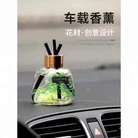 ZUOHE Parfum Ruangan Aroma Diffuser Reed Rattan Sticks Blue Wind Chimes 120ml - ZU08 - Green