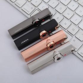 Jobon Korek Api Gas Butane Compact Torch Lighter - ZB-801 - Black