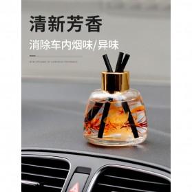 ZUOHE Parfum Ruangan Aroma Diffuser Reed Rattan Sticks Freesia 120ml - ZU08 - Orange