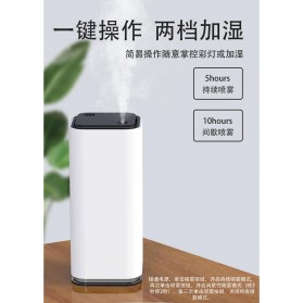 Himist Air Humidifier Pelembab Udara Portable Aromatherapy Oil Diffuser 280ml - H012 - White