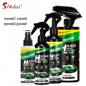 Sindax Cairan Anti Air Kaca Mobil Hydrophobic Nano Spray Ceramic Glass Coating Waterproof Liquid 100ml - SIN4