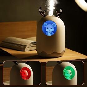 MengChong Humidifier Pelembab Udara Aromatherapy Oil Diffuser Cute Design 300ml - 601 - White - 10