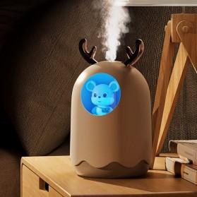 MengChong Humidifier Pelembab Udara Aromatherapy Oil Diffuser Cute Design 300ml - 601 - White - 9