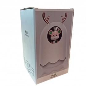 MengChong Humidifier Pelembab Udara Aromatherapy Oil Diffuser Cute Design 300ml - 601 - White - 11