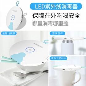 HIAISB Lampu UVC Sterilization Portable Disinfektan Germicidal Lamp - HINS002 - White - 3