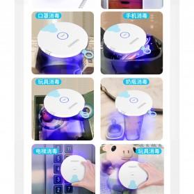 HIAISB Lampu UVC Sterilization Portable Disinfektan Germicidal Lamp - HINS002 - White - 7