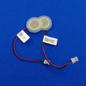 SOAR PIEZO Pembuat Kabut Embun Mist Spray Fog Maker Atomizer Spray Atomizing Transducer Plate 16 mm 4 PCS - WT02 - White - 2