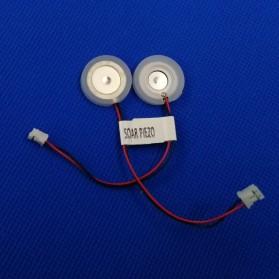 SOAR PIEZO Pembuat Kabut Embun Mist Spray Fog Maker Atomizer Spray Atomizing Transducer Plate 16 mm 4 PCS - WT02 - White - 4