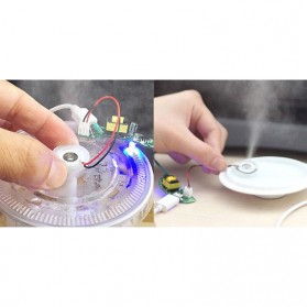 SOAR PIEZO Pembuat Kabut Embun Mist Spray Fog Maker Atomizer Spray Atomizing Transducer Plate 16 mm 4 PCS - WT02 - White - 5