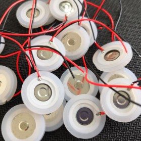SOAR PIEZO Pembuat Kabut Embun Mist Spray Fog Maker Atomizer Spray Atomizing Transducer Plate 16 mm 4 PCS - WT02 - White - 7