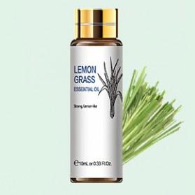 HIQILI Pure Essential Fragrance Oils Minyak Aromatherapy Diffusers Lemongrass 10ml - HQ01