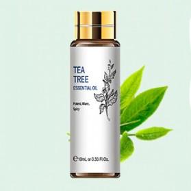 HIQILI Pure Essential Fragrance Oils Minyak Aromatherapy Diffusers Tea Tree 10ml - HQ01