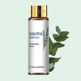 HIQILI Pure Essential Fragrance Oils Minyak Aromatherapy Diffusers Eucalyptus 10ml - HQ01