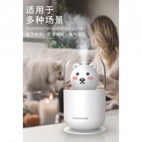 ISHOWTIENDA Humidifier Pelembab Udara Aromatherapy Oil Diffuser Cute Design 300ml - Y06 - White - 10