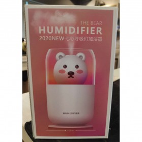 ISHOWTIENDA Humidifier Pelembab Udara Aromatherapy Oil Diffuser Cute Design 300ml - Y06 - White - 13