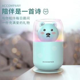 ISHOWTIENDA Humidifier Pelembab Udara Aromatherapy Oil Diffuser Cute Design 300ml - Y06 - White - 4