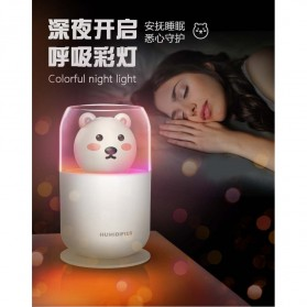 ISHOWTIENDA Humidifier Pelembab Udara Aromatherapy Oil Diffuser Cute Design 300ml - Y06 - White - 6