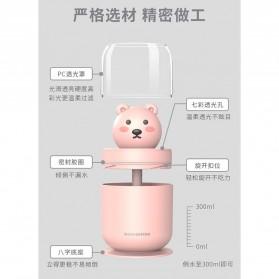 ISHOWTIENDA Humidifier Pelembab Udara Aromatherapy Oil Diffuser Cute Design 300ml - Y06 - White - 8