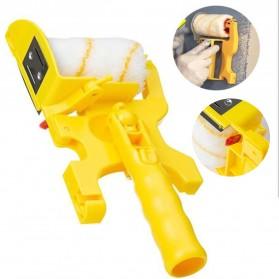 Home-Life Kuas Cat Tembok Roller Paint Clean-Cut Edger Brush Set - HOM5 - Yellow